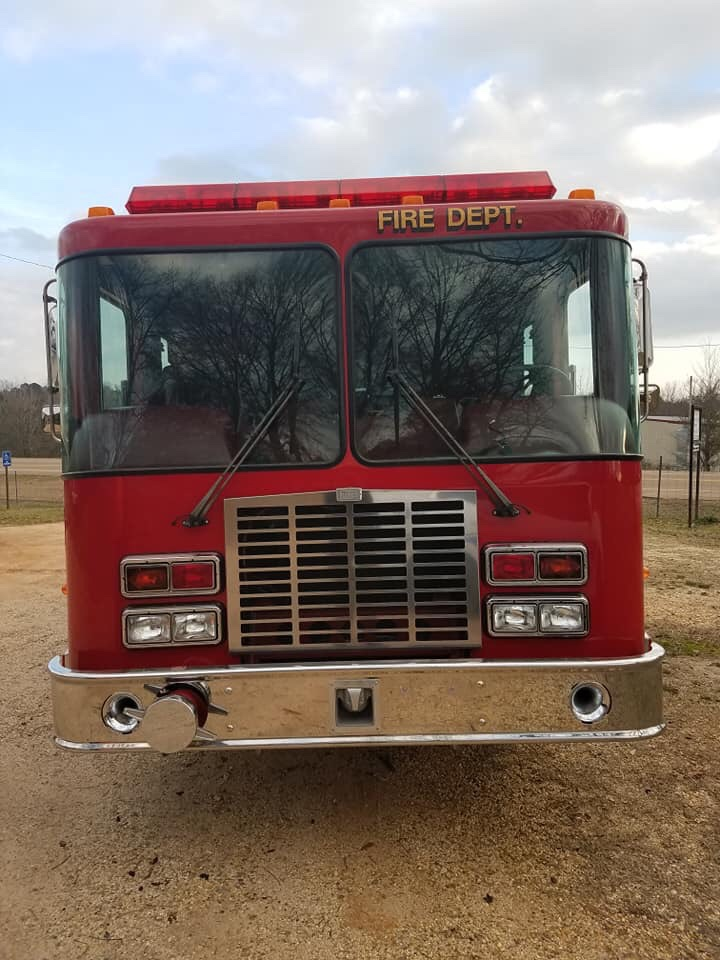 City Of Hermitage Ark New Fire Pumper Truck Delivered