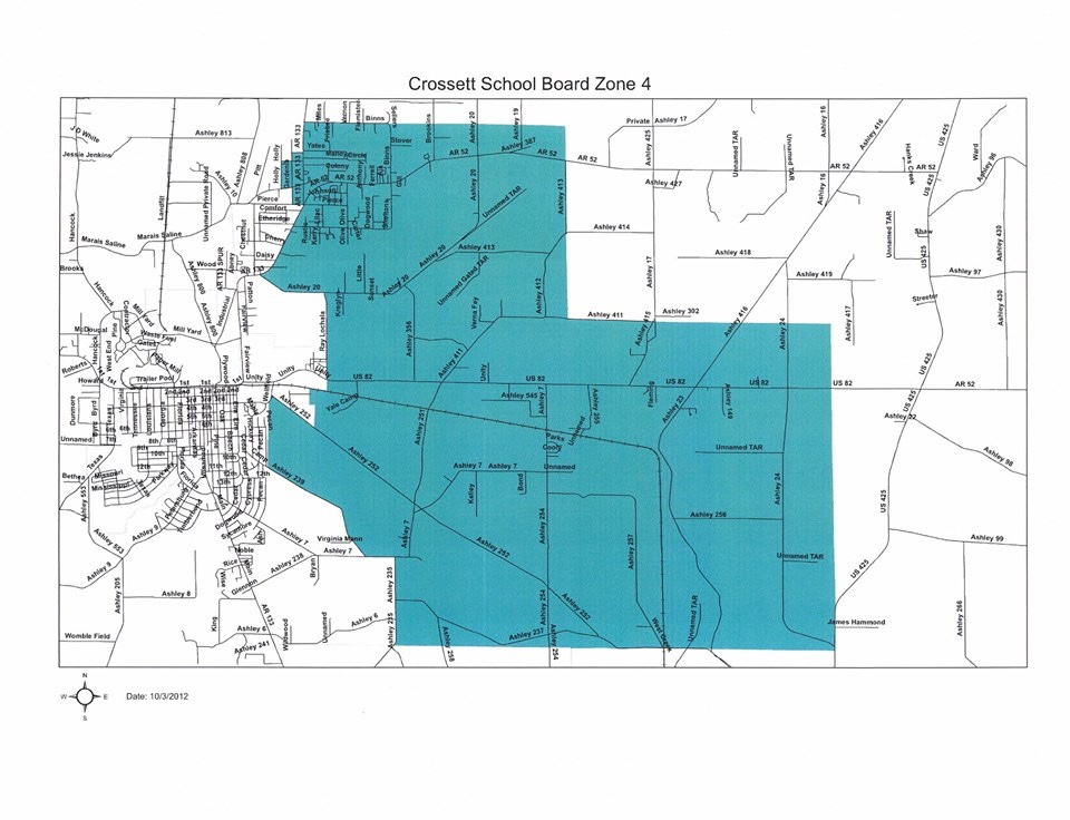 Annual School Election Filing For Crossett Ark School Board
