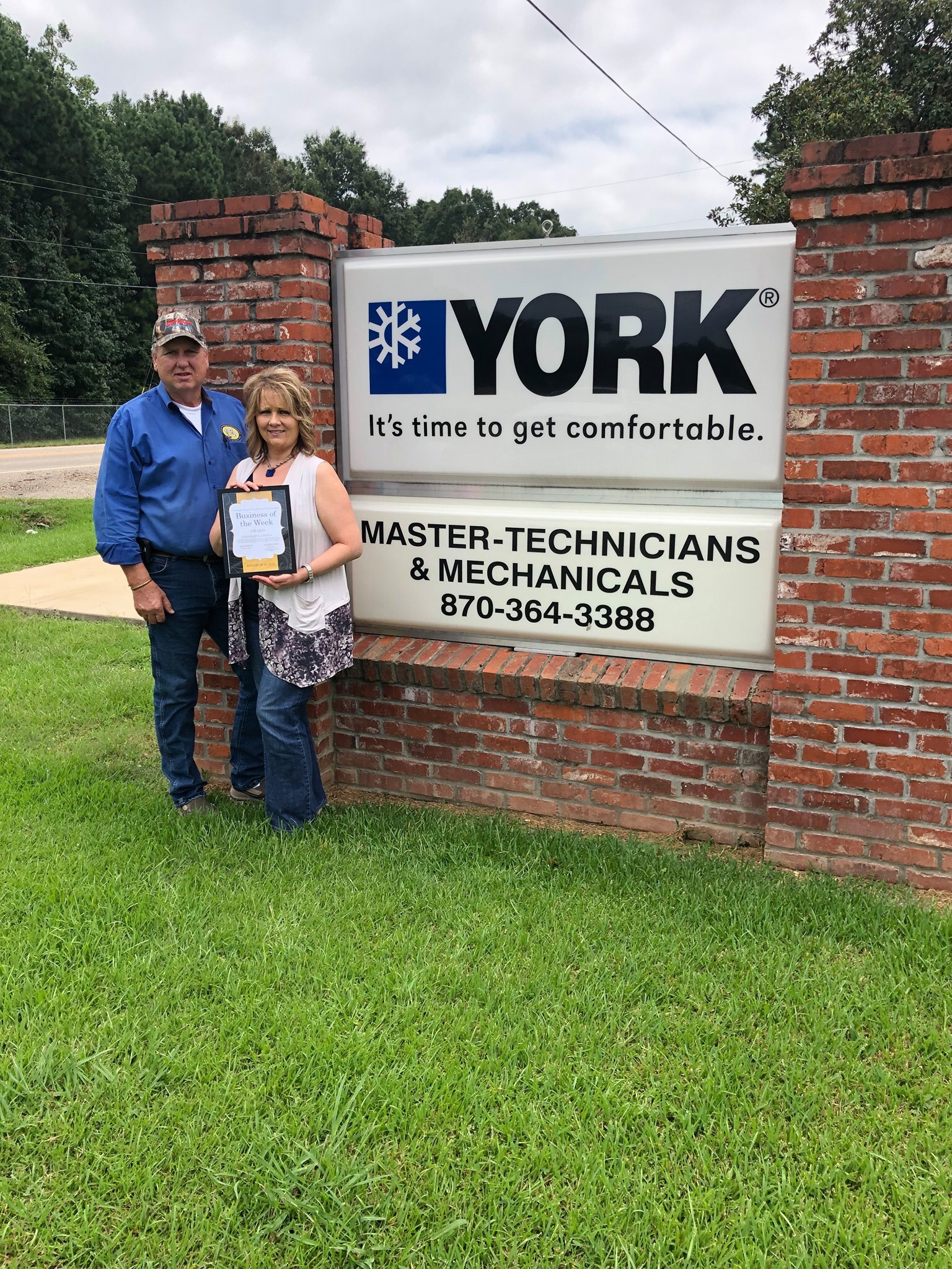 Crossett Ark Area Chamber Of Commerce Congratulates Business Of The Week Yo MasterTech